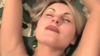 Luxurious milf wifey oral and tit wank