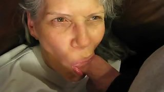Highly mature wife with my nuts in her gullet