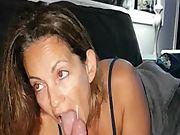 Girlfriend milf blowjob facial cumshot