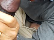 My first gay practice with black man rod