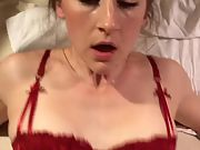 Spectacular wife penetrated and creampied