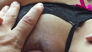 Hubby likes my vag and my orbs and i love to flash them off