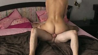 Camera recording me and wifey getting it on in the bedroom riding cock