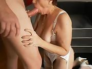 Granny's love being penetrated and used just like any warm slut