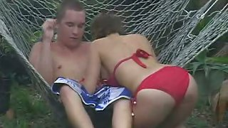 Home video of us fucking outdoors