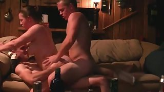 Homemade anal invasion double intrusion threeway