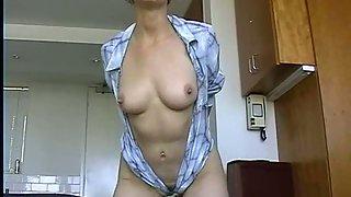 Standing buttfuck dildo