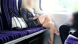 Voyeur filmed marvelous mature woman in the instruct